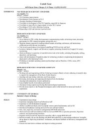 Research Scientist Resume Sample Research Scientist Engineer Resume Samples Velvet Jobs 8