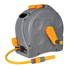 hozelock 2 in 1 compact enclosed hose reel