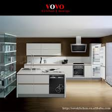 Handless Kitchen Cabinet In High Gloss White In Kitchen Cabinets