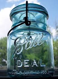 ball ideal mason jar. my grandmother, mother, father, and just about everyone else in town worked at ball corp, i have vivid memories of bee-bopping down the halls those ideal mason jar