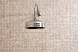 tiled shower walls show where to use homemade daily shower spray recipe