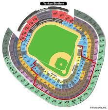 New York Yankees Yankee Stadium Seating Chart New York