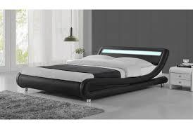 white or black furniture. Sleep Design Madrid Led Bed Frame Black, White Or Black \u0026 - Single Furniture