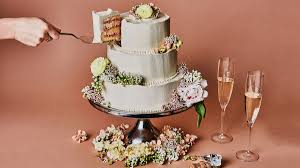 Lemon And Raspberry Wedding Cake Recipe Bon Appetit