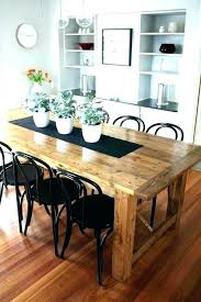 distressed black dining table distressed dining