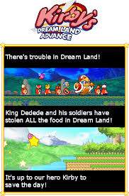 kirby s dream land advance by andy the