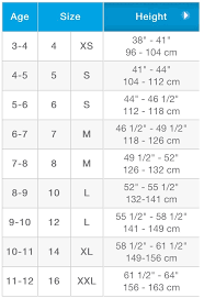 Childrens Size Charts