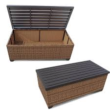 outdoor storage table wicker console outside full size of