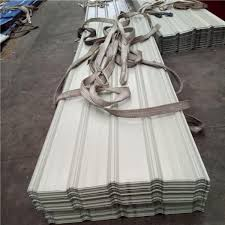 840 0 4mm huaguan ivory white corrugated roof sheets with 55 az warehouse and images