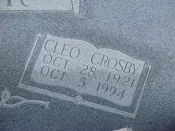 Cleo Crosby Lanier (1921-1994) - Find A Grave Memorial