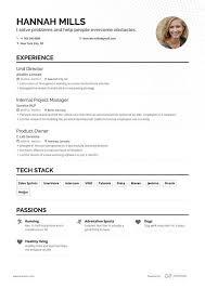 Free Online Resume Format Free Resume Builder Online Resume Builder Enhancv Com