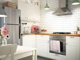 Ikea Whole Kitchen Beautiful Cuisine Voxtorp Inspirant Cuisine Ikea