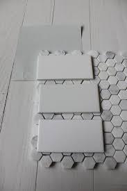 Mosaic Bathroom Floor Tile 25 Best Ideas About Hexagon Tile Bathroom On Pinterest White
