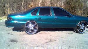 All Chevy 96 chevrolet caprice : My 96 chevy caprice tuckin 26