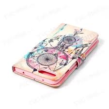 Dream Catcher Case Iphone 7 Plus Patterned Leather Wallet Case for iPhone 100 Plus 100100 inch Dream 68