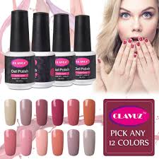 Amazon.com : CLAVUZ Nail Gel Polish Pick Any 12 Colors Collection ...