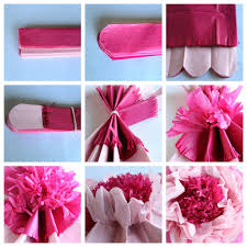 Paper Flower Tissue Paper How To Make Giant Tissue Paper Flowers