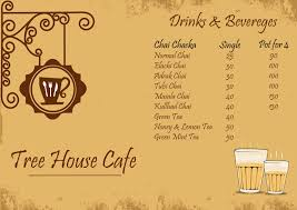 tree house jaipur. Tree House Cafe Menu Jaipur I