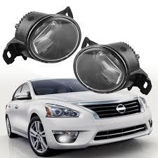 2017 Nissan Altima Led Fog Lights Us 42 92 19 Off Led Style Pair Fog Lamp For Nissan Altima Maxima Rogue Sentra Clear Lens Fog Lights Driving Bumper Lamps Car Led Fog Lamp In Car