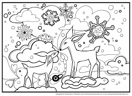 Small Picture Coloring Pages To Print Winter Coloring Pages