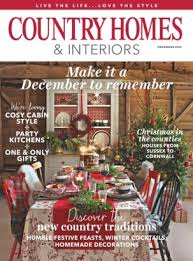country homes and interiors. Country Homes \u0026amp; Interiors Magazine December 2016 Issue \u2013 Get Your Digital Copy And S