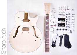electric guitar kits build your own electric guitar kit diy electric guitar kit 175 style build your own guitar kit sharp arch