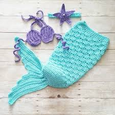 Baby Mermaid Crochet Pattern Free