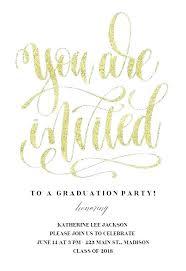 Grad Invite Templates Free Graduation Party Invitation Templates For
