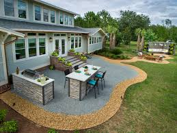 backyard patio design ideas and concrete on a budget trends awesome new diy  popular small -