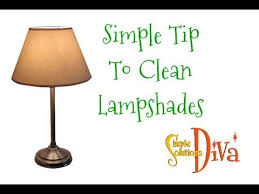 How To Clean Lamp Shades Stunning SimpleSolutionsDiva Simple Tip To Clean Lampshades YouTube