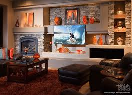 Small Picture Custom Media Wall Designs With FIreplaces by DAGR Design