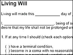 Living Will Template Free Download Inspirational Sample Form – Rigaud