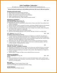 Custodial Worker Resume Waiter Resume Examples For Letters Job