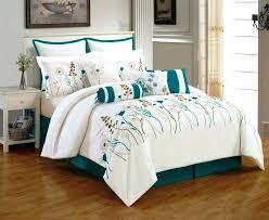 teal queen comforter. Marvelous Teal Bedding Sets Queen Comforter Color Best Bed Images On Bedroom Pertaining . Q