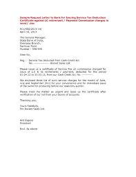 Letter Format For Bank Interest Certificate Fresh And Letter Format