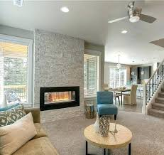 indoor outdoor fireplace double indoor outdoor gas fireplace see through