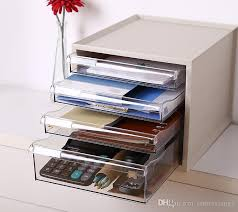 office desktop cabinet. Unique Office Multilayer Drawer Office Desktop Storage Box Plastic File Cosmetics Cabinet  Debris Jewelry Multilayer Online With 8794Piece On  Throughout F
