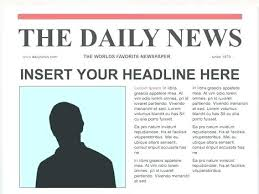 Newspaper Article Word Template Old Newspaper Article Template Atlasapp Co