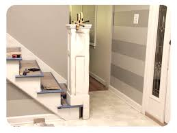 Build Newel Post Build Box Newel Post As A Sleeve Over Existing Newel Post