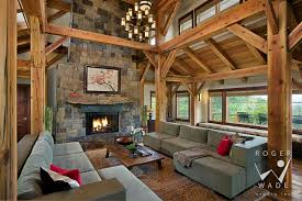 living room toward fireplace and deck steamboat springs co
