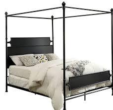 Gracie Oaks Kratochvil Metal Canopy Bed Wayfair Gold ~ Ananthaheritage