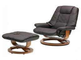 leather chairs with footstool leather swivel rocker rocking chair with ottoman india