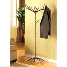 Coat And Hat Rack Stand New Tree Hat Rack Antler Coat Hat Rack Stand Hanger Bronze Finish Rustic