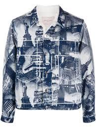 Buscemi <b>Куртка</b> С Принтом <b>New York</b> - Купить В Интернет ...