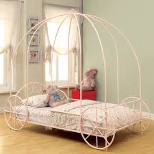 Coaster Lexi Princess Twin Canopy Bed