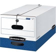 Bankers Box Liberty Storage Box Legal 12ct FEL 00012