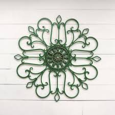 metal wall scroll outdoor decor wall medallion green scr on outdoor wall art metal scroll with best outdoor metal wall decor products on wanelo