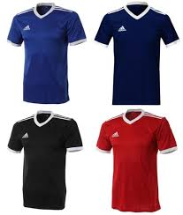Details About Adidas Youth Tabela 18 Training Soccer Climalite 4 Colors S S Kid Shirts Ce8918