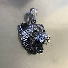 bear pendant vn021 viking merch at necklace