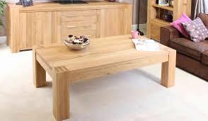 atlas oak coffee table large